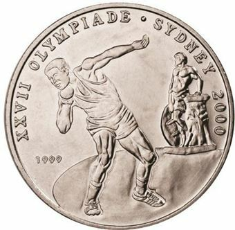 Picture of Congo, Scarce Congo Olympic Shot Putt Crown
