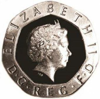 Picture of Elizabeth II, 2000 (Millennium) 20 Pence Brilliant Uncirculated