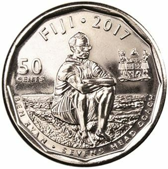 Picture of Fiji Rugby 50 Cents 2016