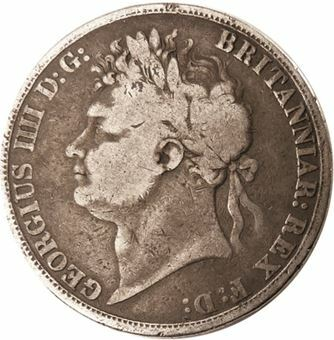 Picture of George IV, Crown Fine