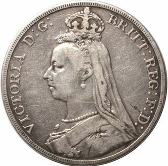 Picture of Victoria, Crown Fine, 1892