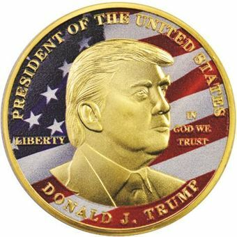 Picture of United States of America, Trump Bronze Colour