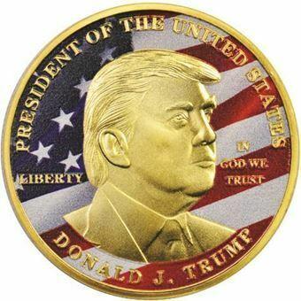 Picture of United States of America, Trump Bronze Colour