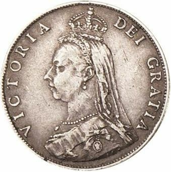 Picture of Victoria, Jubilee Head Florin Very Fine