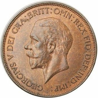 Picture of George V, Penny 1935 Uncirculated