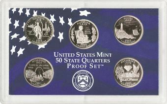 Picture of United States of America, US Quarter Proof Set, 2003
