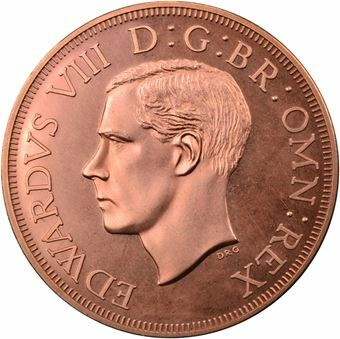 Picture of Australia, Edward VIII ,'Crown' Short Obv Legend, Copper