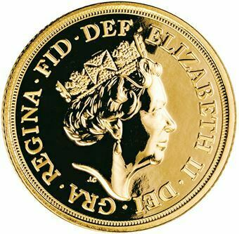 Picture of Elizabeth II, Gold Sovereign, 2018