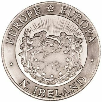 Picture of Northern Ireland, 25 Ecu CN 1992