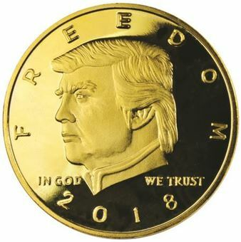 Picture of United States of America, Trump 2nd Amendment Medal