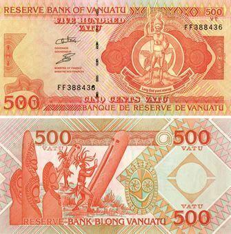 Picture of Vanuatu 500 Vatu P5 Unc