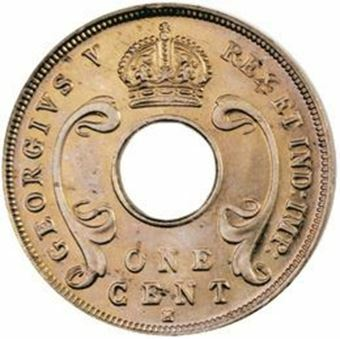 Picture of East Africa and Uganda, 1c 1912H Choice Brilliant Uncirculated