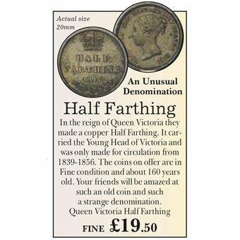 Picture of Victoria Half Farthing Fine Condition