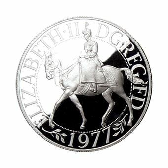 Picture of Silver Jubilee Silver Proof Crown, 1977