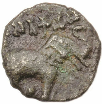 Picture of India, Ancient India, Elephant Copper Coin