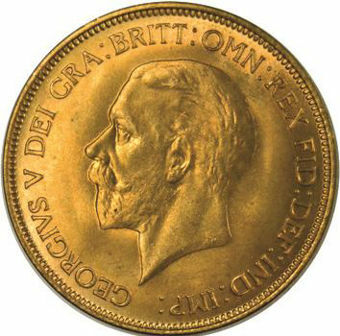 Picture of George V, Penny 1936 Brilliant Uncirculated
