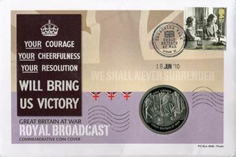 Picture of Gibraltar Crown Cover Royal Broadcast
