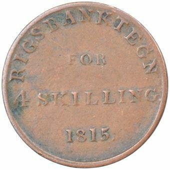 Picture of Denmark, Skilling 1815