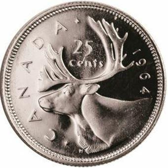 Picture of Canada, 1964 25c
