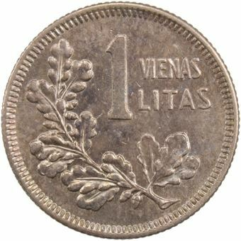 Picture of Lithuania, 1 Litas 1925