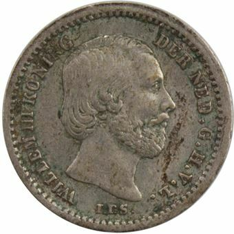Picture of Netherlands, 5 Cents 1850