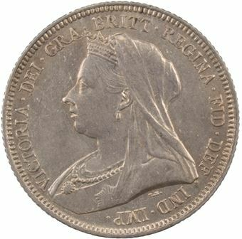 Picture of Victoria, Old Head Shilling 1893