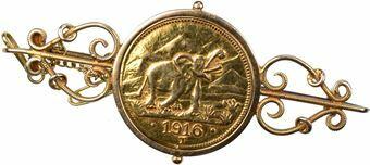 Picture of German East Africa, 15 Rupien 1916