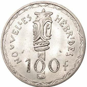 Picture of Vanuatu (New Hebrides), 100 Francs