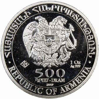 Picture of Armenia, 2019 1 Ounce Silver
