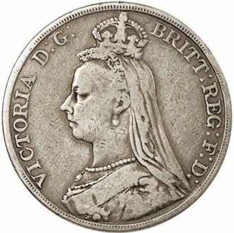 Picture of Victorian, Silver Crown, 1891