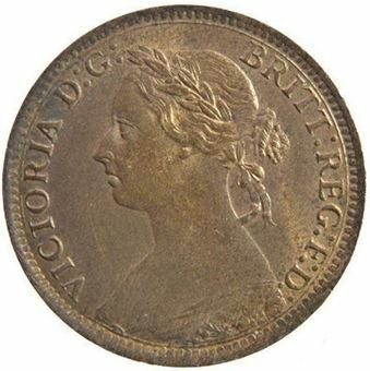 Picture of Victoria, Farthing Uncirculated, 1895