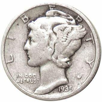 US-silver-mercury-silver-1930s-obv