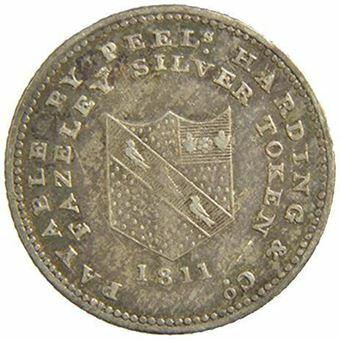 Staffordhire-fazley-6d-token-1811-obv