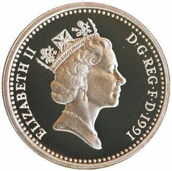 Silver_Proof_Ireland_Pound_1991_Obv