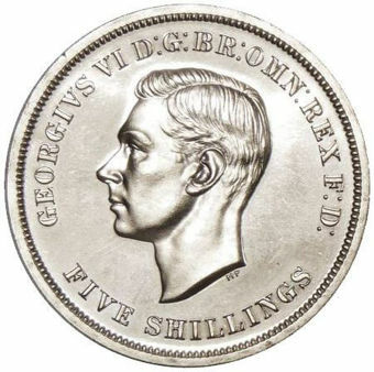 Picture of George VI, Crown (Festival of Britain) 1951 Prooflike cupronickel (boxed)