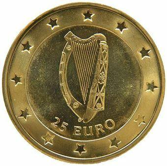 Ireland_1996_Pattern_25_Euro_Metal_Obv