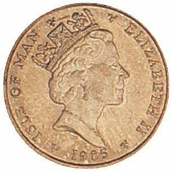 Picture of Isle of Man, Halfpenny Brilliant Uncirculated, 1985