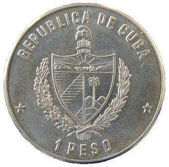 Picture of Cuba, 1 Peso 1984 (Castillo el Morro) CN