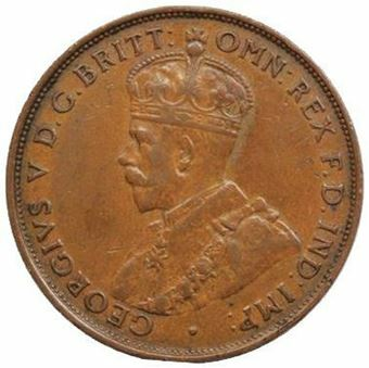 Picture of Australia, George V Penny in Fine