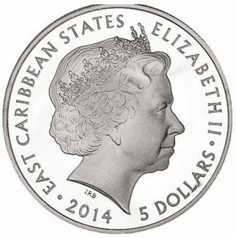 Picture of East Caribbean States, George VI & Princess Elizabeth
