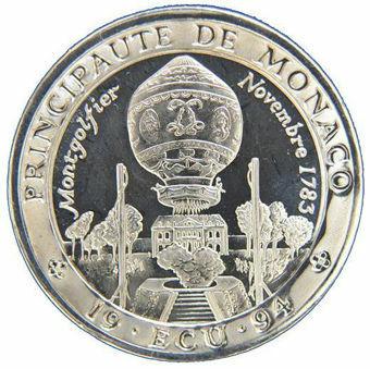 Picture of Monaco, 1994 Ecu Cupro-Nickel