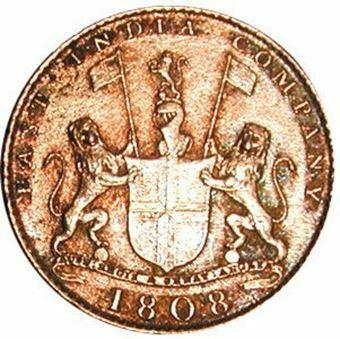 Picture of India, East India Co. Treasure X Cash
