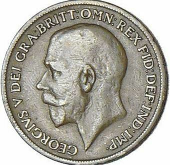 Picture of George V, King's Norton Penny, 1918