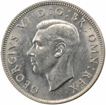 Picture of George VI, Florin 1944 Choice Unc