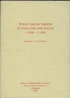 Picture of Public House Tokens in England & Wales