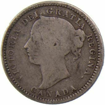 Picture of Canada, 10 Cents 1892