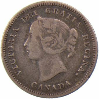 Picture of Canada, 5 Cents 1886
