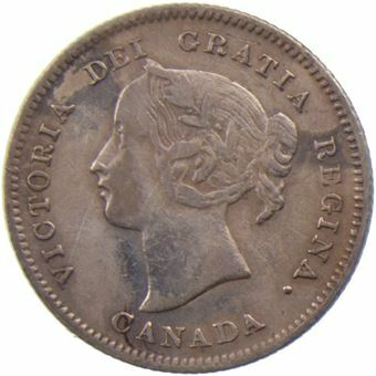 Picture of Canada, 5 Cents 1900