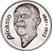 Picture of Spain, Picasso Euro Cupronickel Unc