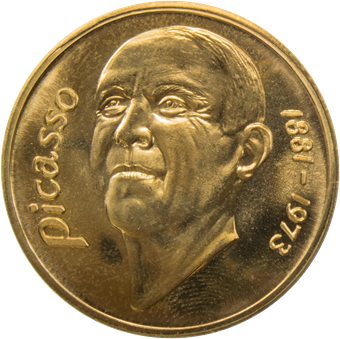 Picture of Spain, Picasso Euro Brass Uncirculated